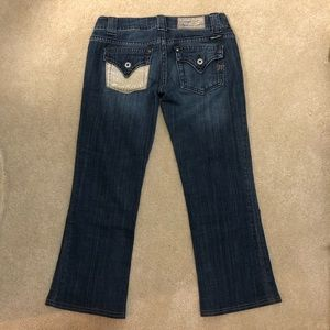 Unique Miss Me Cropped Style Jeans